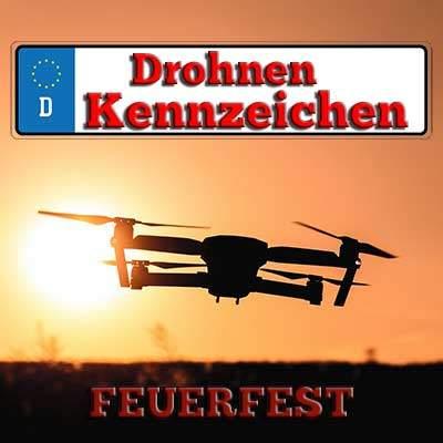 Drohnenkennzeichen