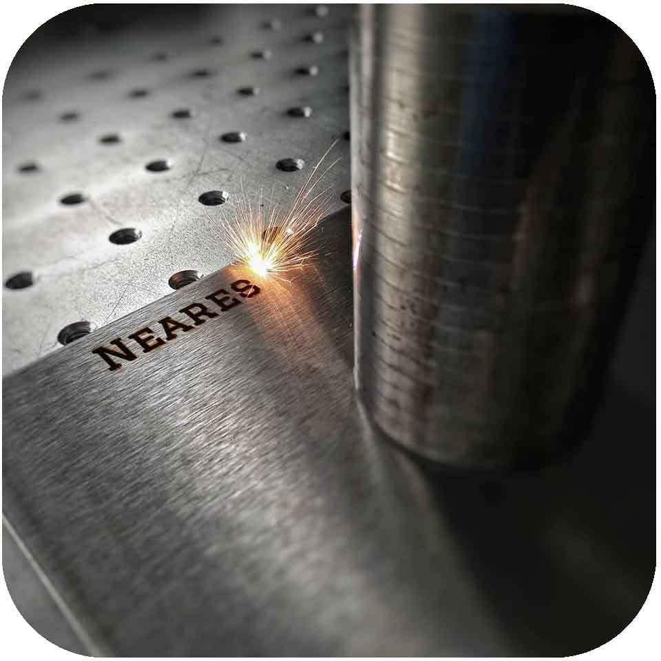 Laser-Gravur Metall Lasergravieren