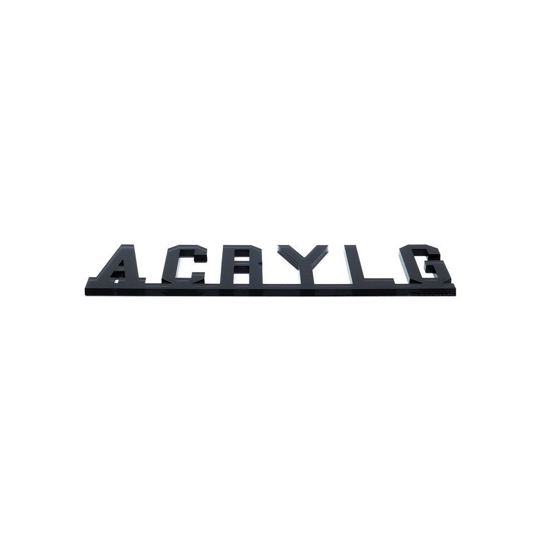 Acrylglas-Plexiglas-Laserschneiden