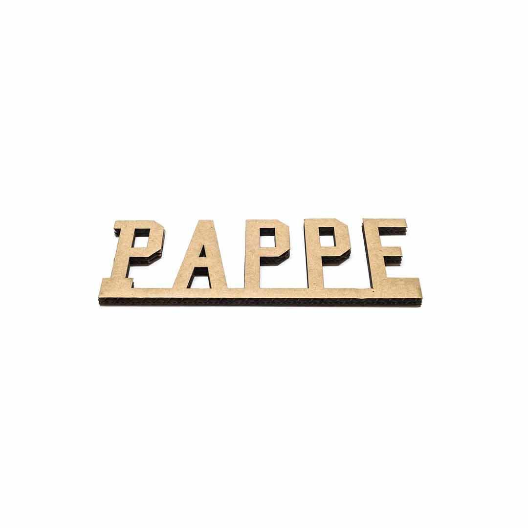 Pappe-Laserschneiden